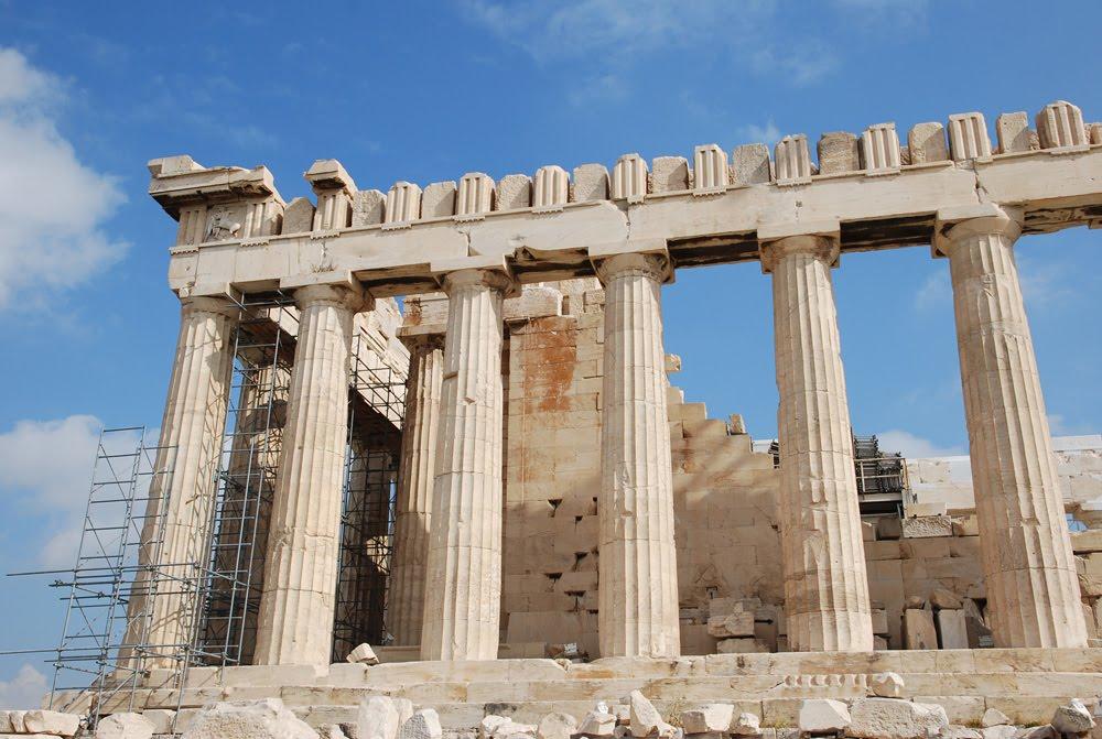 Footloose with Diana: Parthenon: Temple of Athena Parthenos