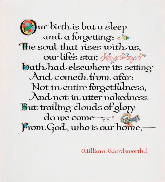 a review of to sleep by william wordsworth