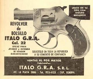Revólver 22 Italo g.r.a