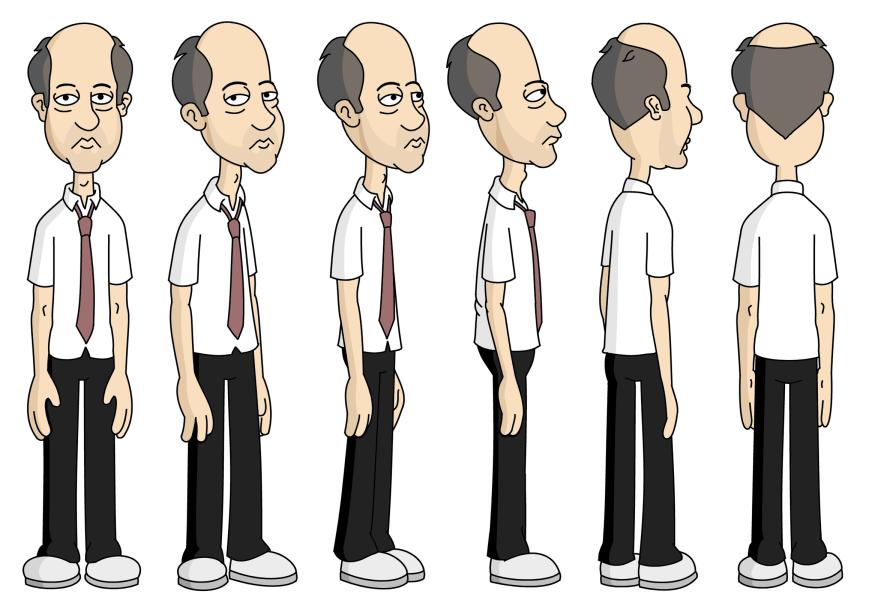 Design Of Cartoon Character : Blendtex tio nacho blender b