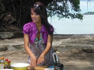 Kumpulan resep kue makanan masakan Farah Quinn acara Ala Chef Trans TV