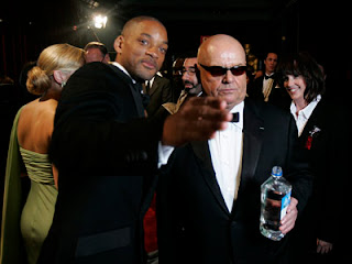 Will Smith with Jack Nicholson at the 2007 Oscars