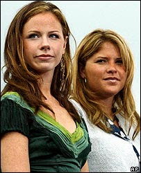 Barbara and Jenna Bush are the colorful twin daughters of President George Bush and his charming wife Barbara