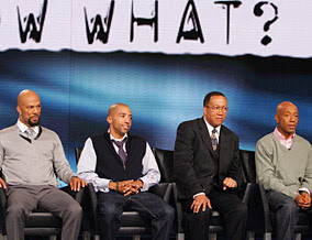 Hip-hop panelists for Oprah's Town Hall broadcast included Common, Kevil Liles, Dr. Ben Chavis, and Russell Simmons