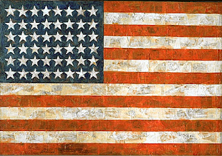 'Flag' by Jasper Johns, 1954-55