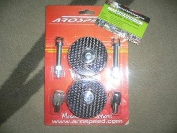 Bonet pin Aerospeed ada kunci, carbon fibre