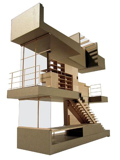 Genaro faua trabajos taller 1 - Escaleras para segundo piso en poco espacio ...