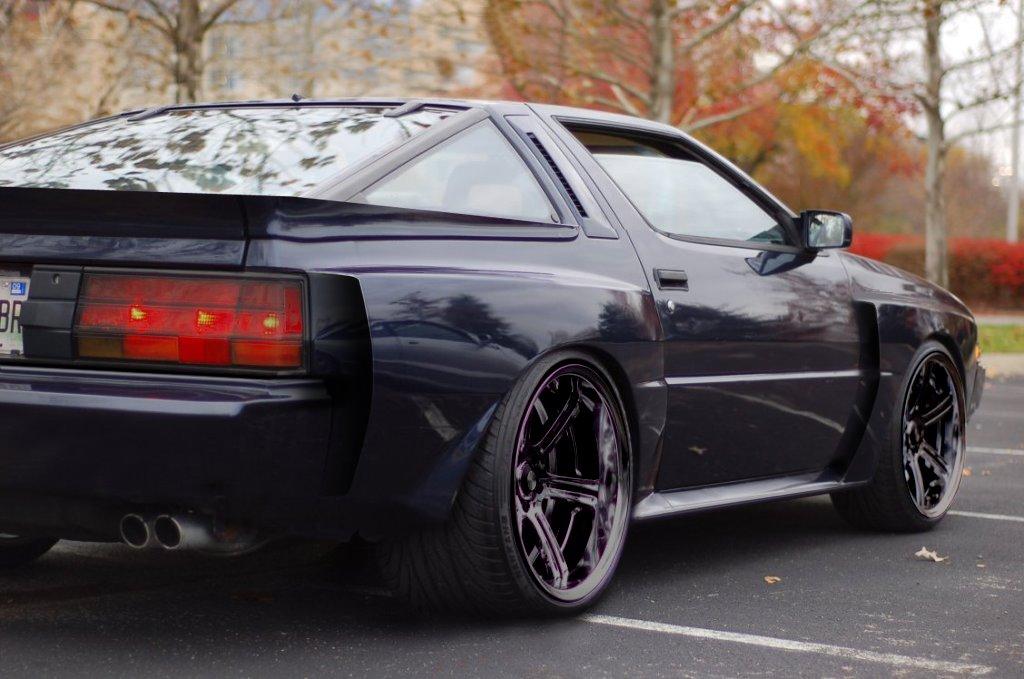 Gallery For > Hellaflush Mitsubishi Starion