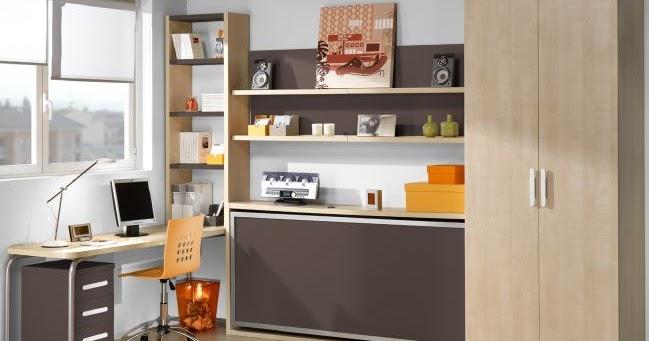 Soluciones para espacios peque os camas abatibles ideas for Soluciones para espacios pequenos
