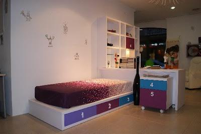 C mo montar un dormitorio juvenil completo en una for Distribucion habitacion juvenil