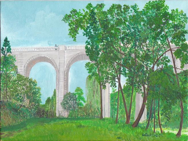 Viaduc au parc oriental