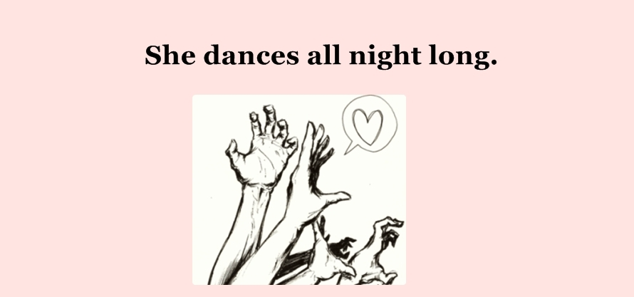 She dances all night long ♥