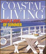 Featured in Coastal Living Magazine