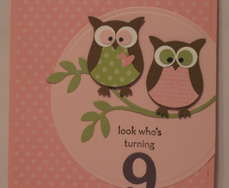 In my craft room stamping with glenda two step owl xl for Stampin pretty craft room