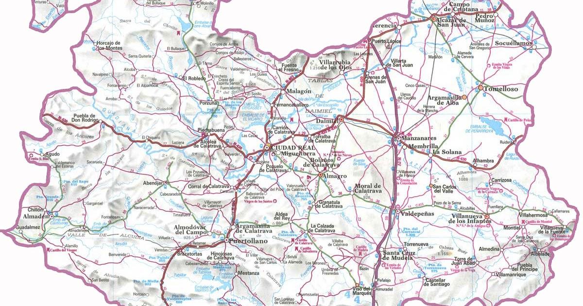 Blog de geograf a del profesor juan mart n mart n - Plano de ciudad real ...