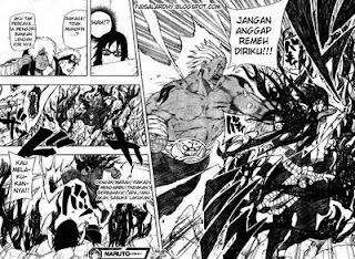 Komik Naruto 463 - Sasuke Vs. Raikage