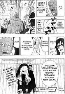 Naruto 466 - Pertarungan Dibalik Pintu Yang Tertutup