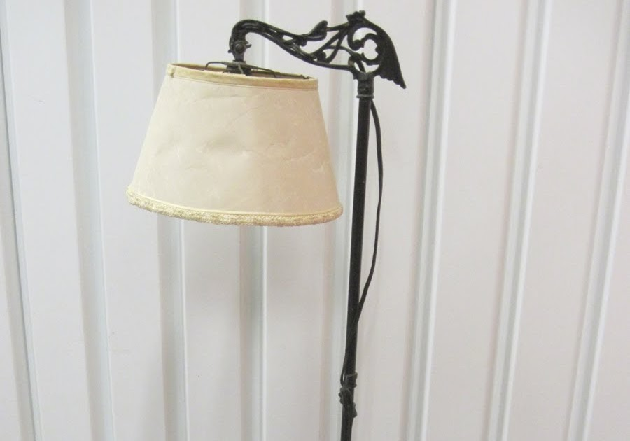 Marla Henderson Design Antique Metal Standing Lamp