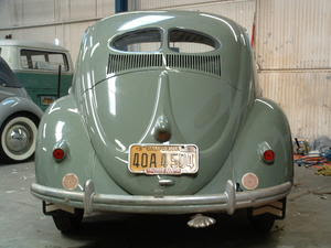 1950 Split Oval Window