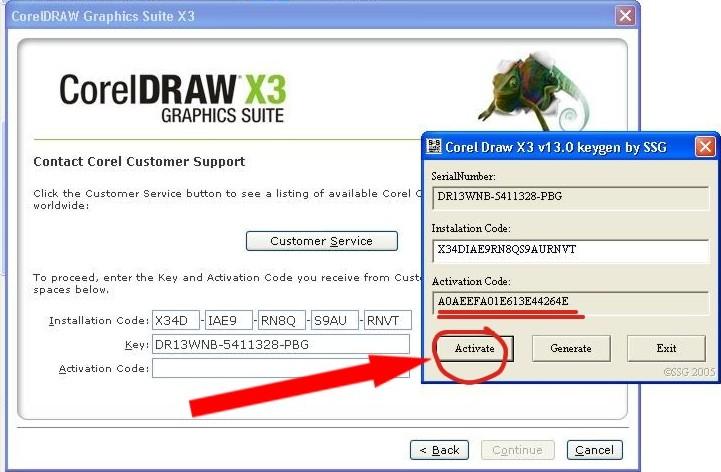 Info Dan Pengetahuan Cara Instal Coreldraw X3 Dan Aktivasi Coreldraw X3