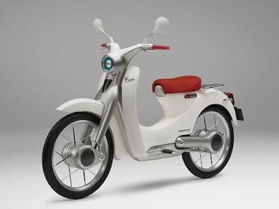 Modifikasi Honda Classic super cub 1958 pictures
