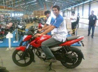 Motor Bajaj Pulsar 135 LS 135 cc