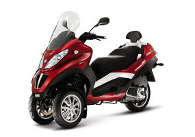 New Piaggio 300cc MP3 Scooter