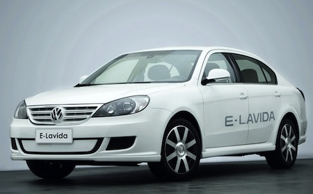 2010 Volkswagen E-Lavida concept Pictures