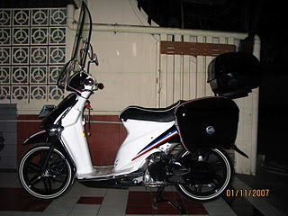 Modifikasi Motor Suzuki Spin 125 Kelas Fashion