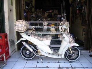 contoh modifikasi motor mio sporty 2010