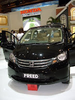 New Honda Freed 2009 Review and spesifikasi