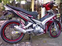 MODIFIKASI MOTOR YAMAHA JUPITER MX 135