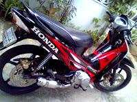 Gambar Modifikasi Honda Suprax 125R