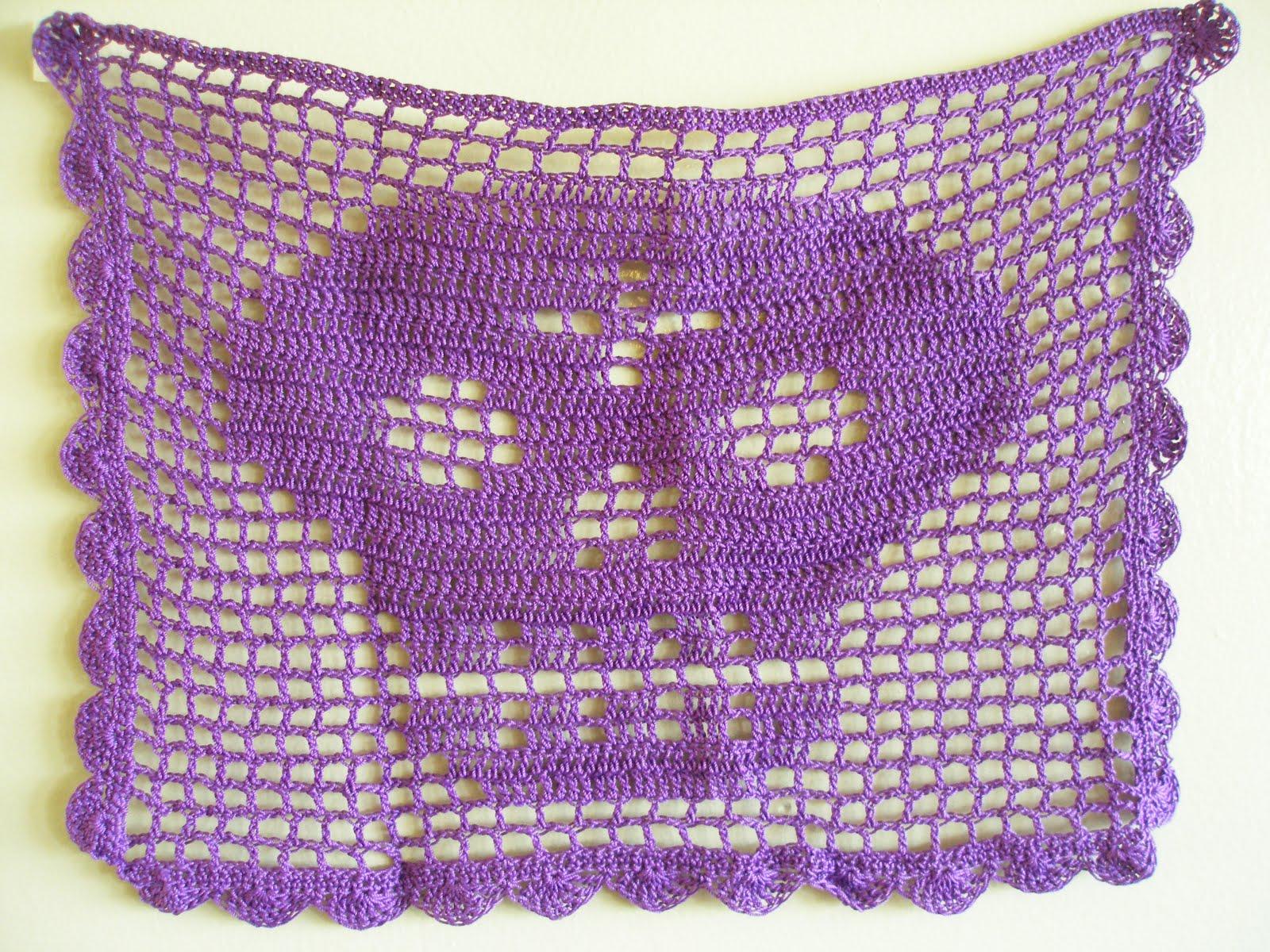 gurman fravor papel picado filet crochet chart. Black Bedroom Furniture Sets. Home Design Ideas