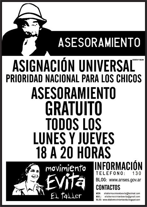 ASESORAMIENTO. ASIGNACIÓN UNIVERSAL.