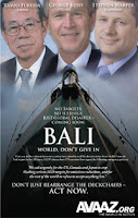 Climate criminals of Bali - the ultimate horror movie