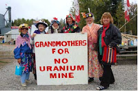 Grandmothers against uranium