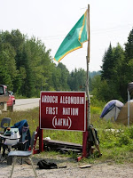 Algonquin Ardoch First Nation resistance to uranium mining