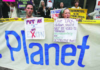 Anti-Exxon protest