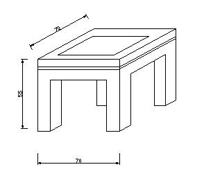 Muebles de madera mesas de centro lateral planos for Planos de mesas de madera pdf