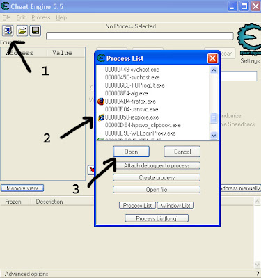 برنامج Cheat Engine 5.6.1