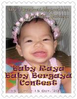 Baby Raya Baby Bergaya Contest by Ibu_Batrisya