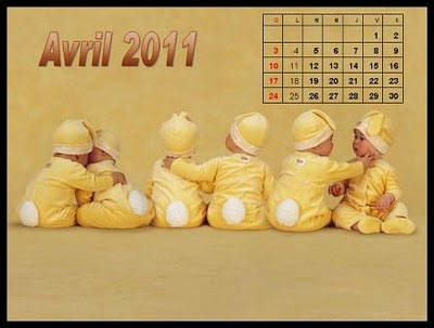 Labels: Cute Baby (Babies ) Desktop Calendar 2011