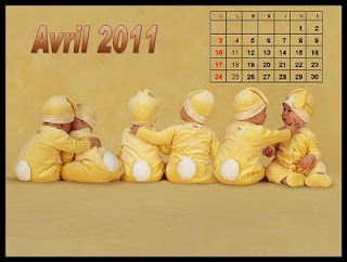 Cute Baby Calendar 2011 Wallpapers