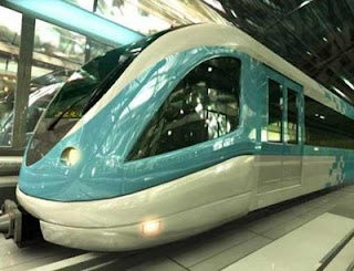 Dubai Metro Train