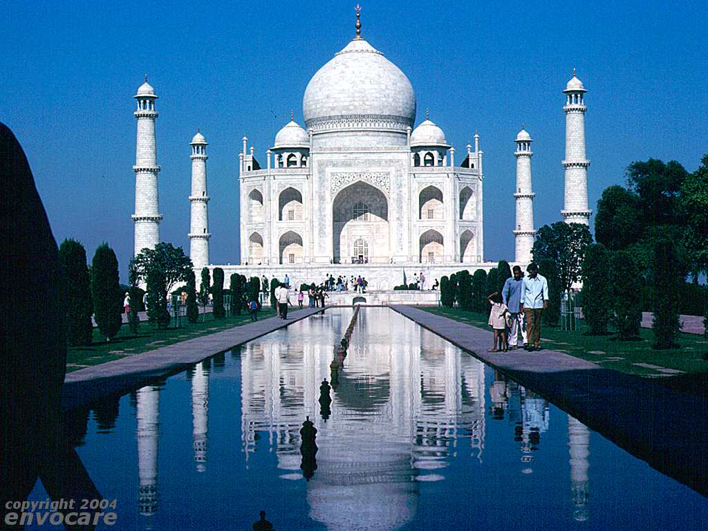 Beautiful Taj Mahal In Agra, India & Photos, Images
