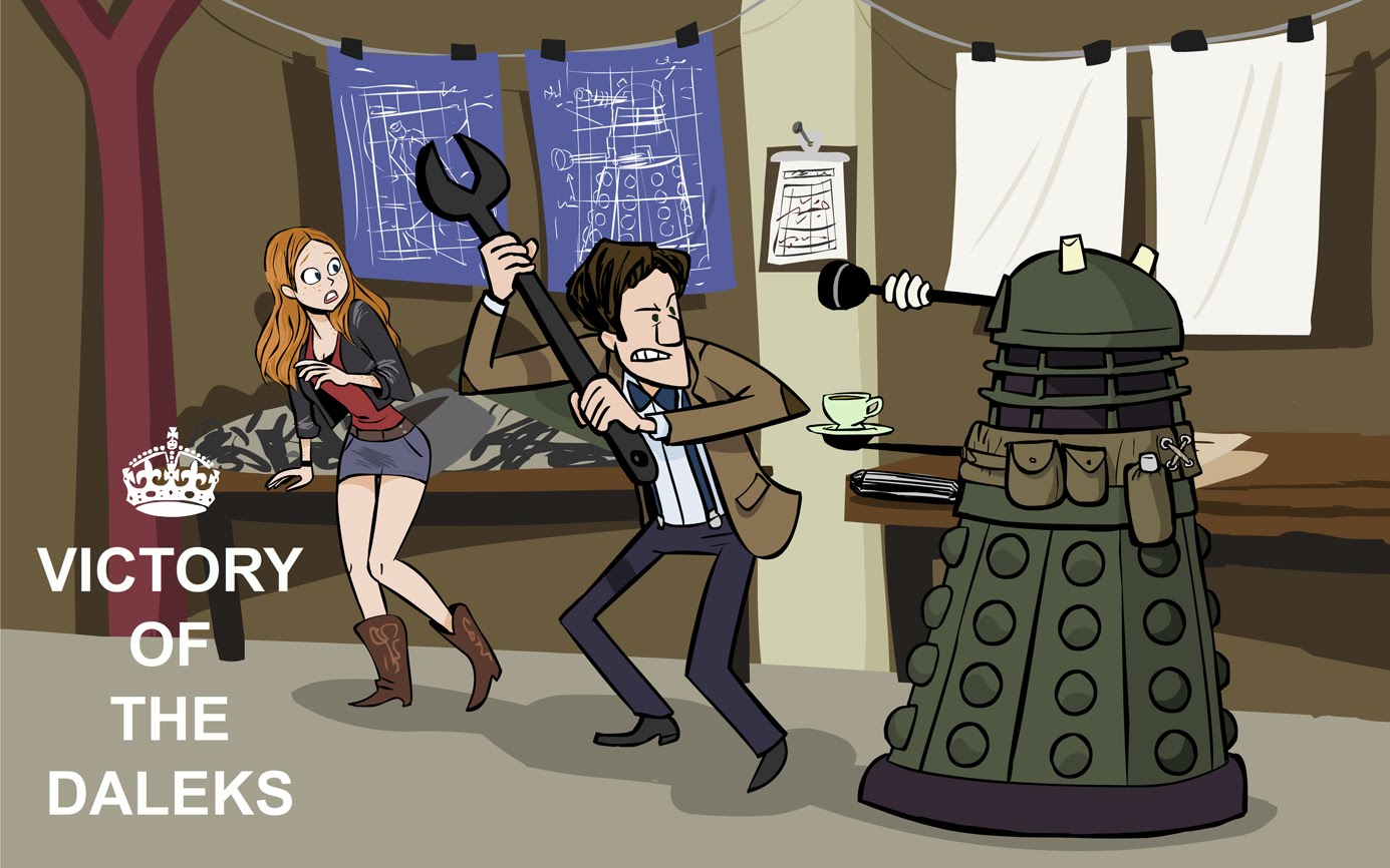 Victory Of The Daleks ...