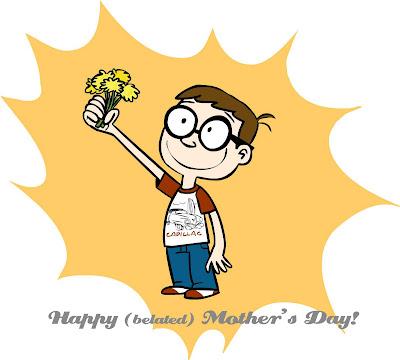 поздравительный рисунок для мамы от сына