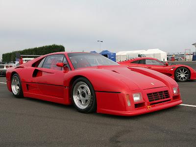 288 Gto Evoluzione. Ferrari 288 GTO (1984)