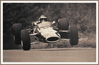 jackie boliver, lotus, gp germany, 1967, autoleyendas